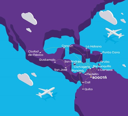 Wingo Will Serve 17 Destinations in Central, South America