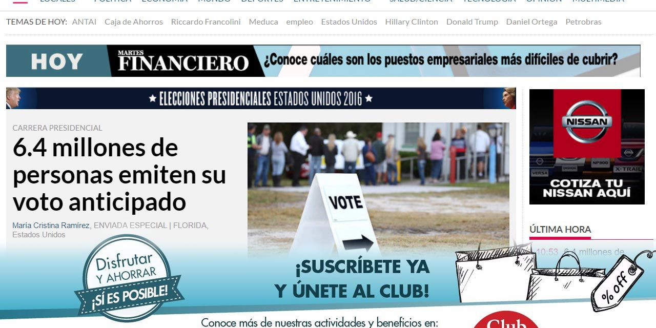 La Prensa Newspaper Erecting a Pay Wall