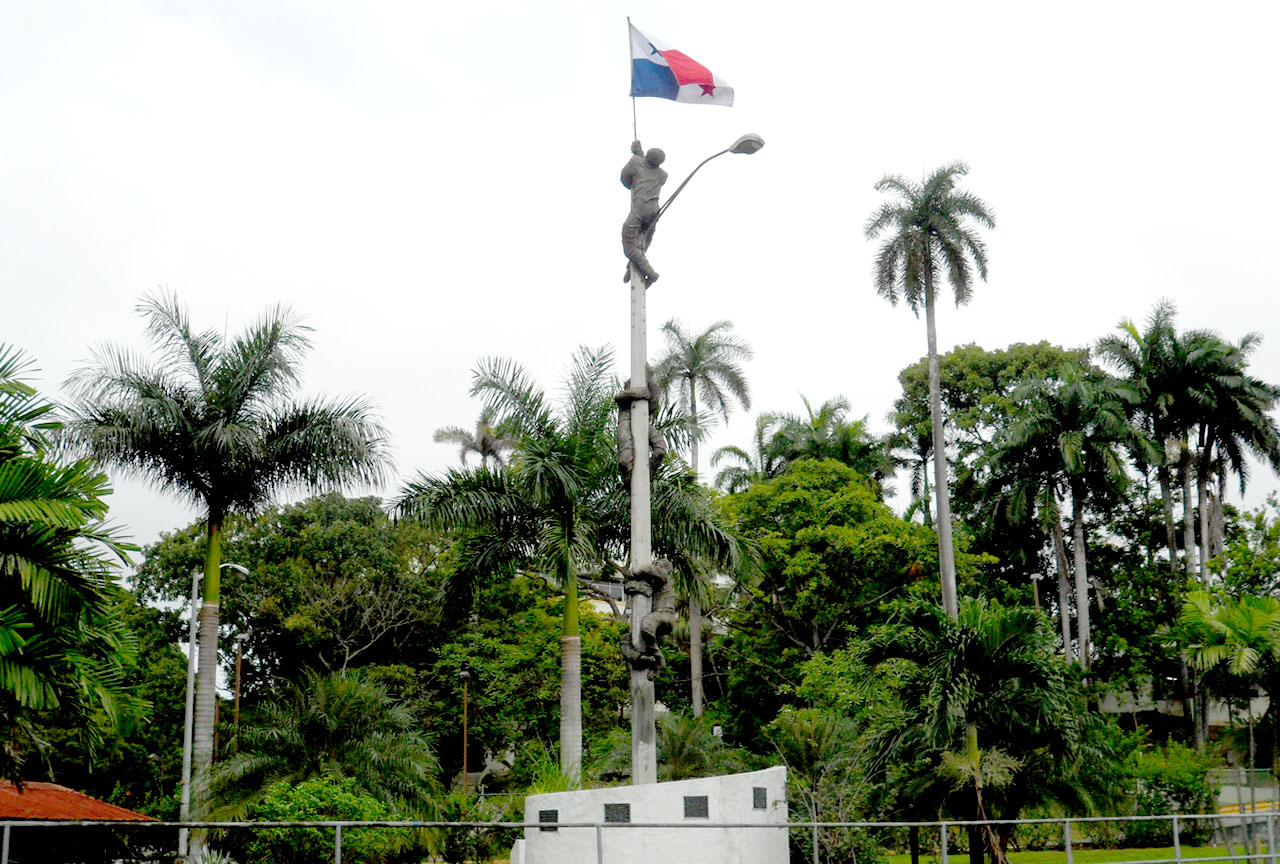Monument to the January 9, 1964, Protests Over Flag in Panama City